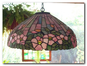 Tiffany Lamp Poppies